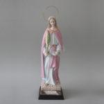 Imagem de Santa Luzia em porcelana com 32 cm