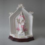 Capela de Santa Luzia em porcelana com 19 cm