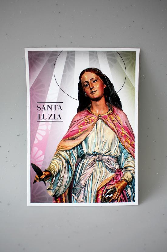 Postal de Santa Luzia