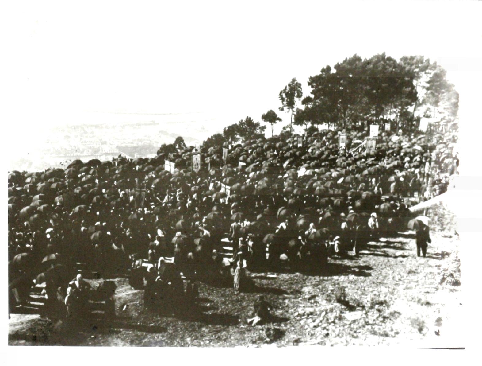 100.º ANIVERSÁRIO DO VOTO DE PEREGRINAR ANUALMENTE AO MONTE DE SANTA LUZIA