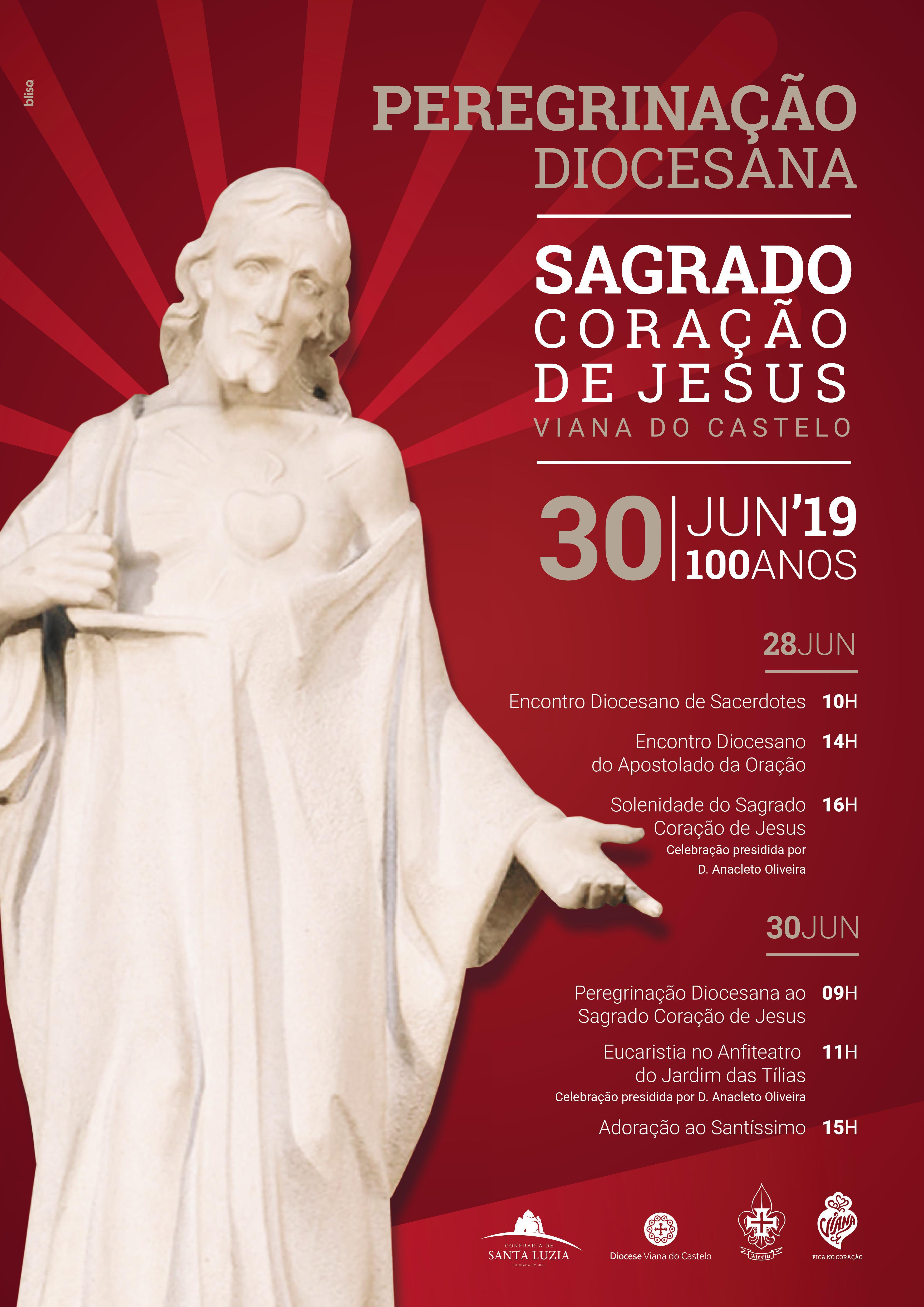 Peregrinação Diocesana ao Sagrado Coração de Jesus 2019